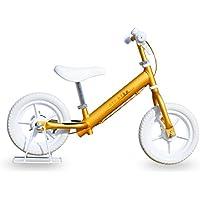 Airbike キックバイク バランスバイク 「公園の天使」 アルミフレームタイプ (ゴールド)