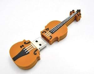 PLATA 【 楽器 & 音楽 】 おもしろ USB メモリ 8GB 【 バイオリン 】