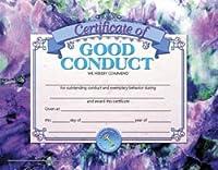 "Hayes School出版va687Good conduct-のセット308.5"" X 11""証明書"
