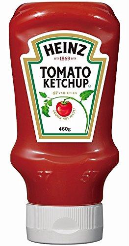 トマトケチャップ 逆さボトル 460g