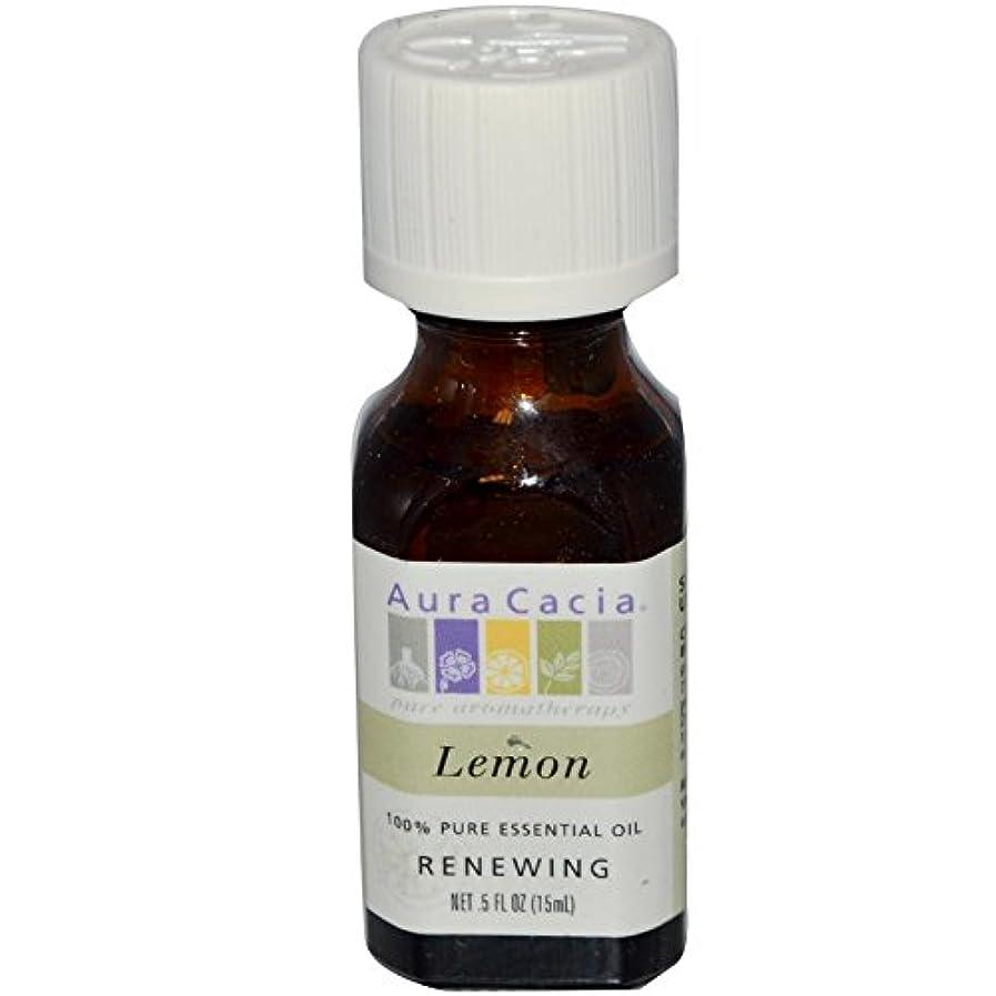 終点スープホバーAura Cacia Essential Oil Lemon 15 ml (並行輸入品)