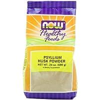 海外直送品Now Foods Psyllium Husk Powder, Powder 24 oz