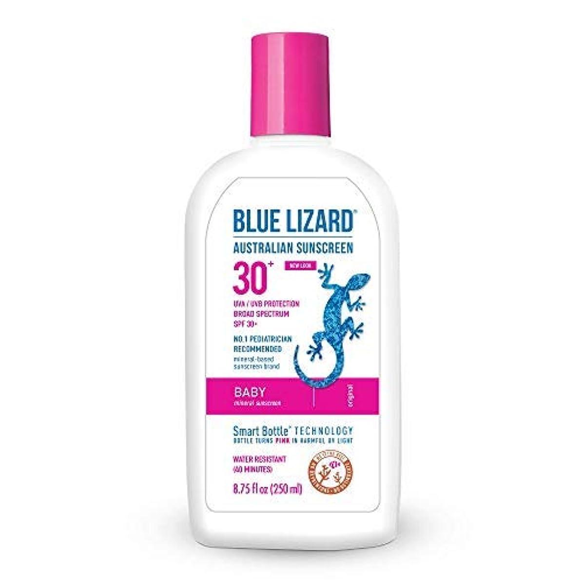 甥種をまく気を散らすBlue Lizard Spf#30+ Baby Australian Sunscreen 260 ml (並行輸入品)
