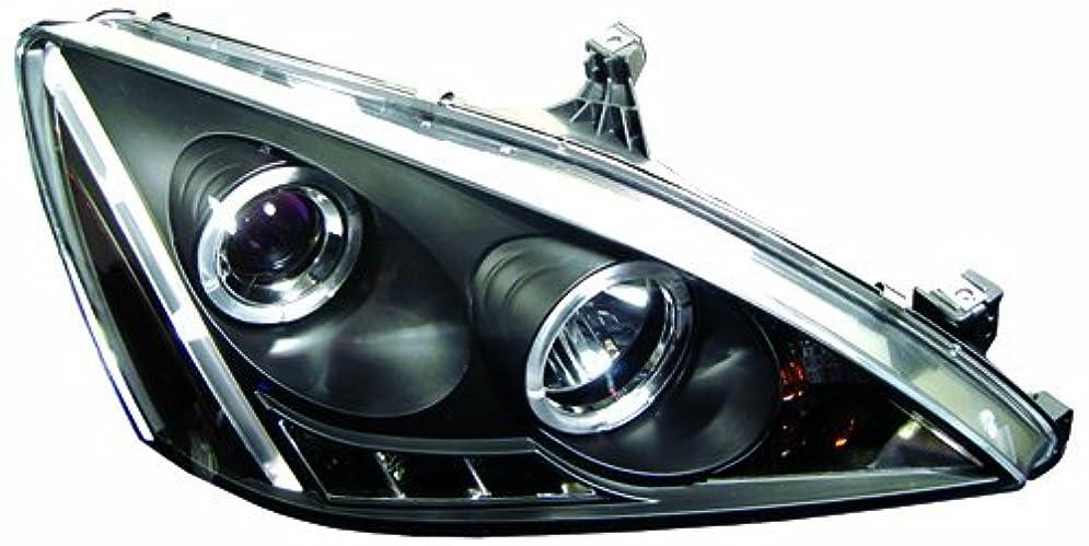 マインド詐欺外科医IPCW CWS-714B2 Honda Accord 2003 - 2007 Head Lamps, Projector With Rings Black