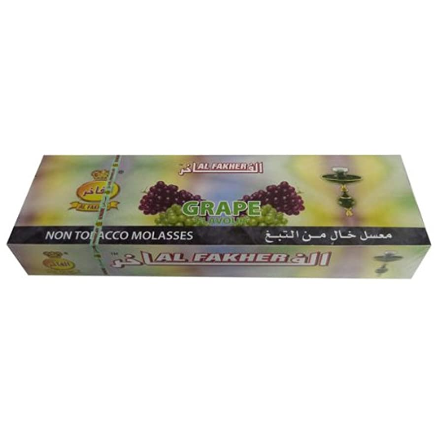 娘ライム好きAl Fakher 10パックX 50 GグレープHerbal Shisha Hookah Hooka Huka Sheeshaパイプ