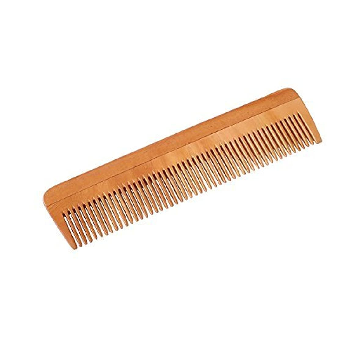 面倒殺人逸話HealthAndYoga(TM) Handcrafted Neem Wood Comb - Non-Static and Eco-friendly- Great for Scalp and Hair health -7...