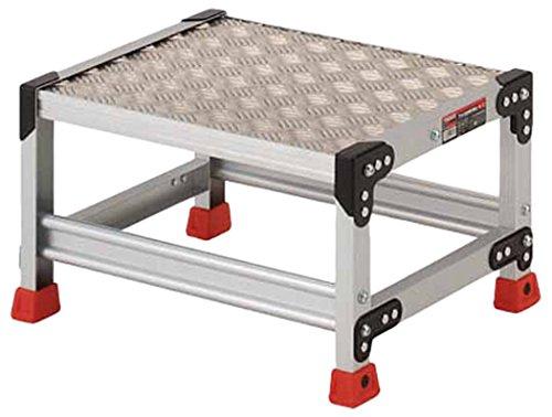 作業用踏台 アルミ製 縞板タイプ 30cm TSFC153 1台 336-5085 (直送品)