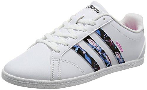 [アディダス] スニーカー CONEO QT CFO83 B74555ランニングホワイト/コアブラック/ショックピンク S16 24.0