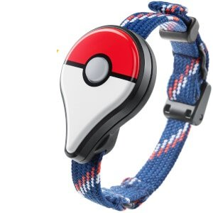 Pokemon GO plus (포켓몬 고 GO Plus) 오리지날 클리어 스티커 부착(조기 구입자 특전)-123