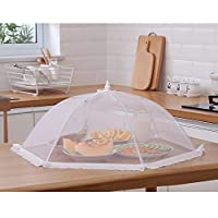 ZPTAT フードカバー 洗える 料理カバーは折り畳みカバーテーブルカバーと料理椀カバーと野菜傘カバーがあります。,B,72 cm
