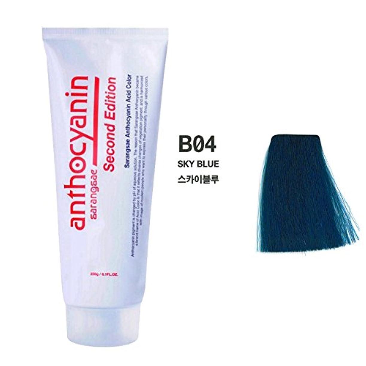 抑圧者鹿胚芽ヘア マニキュア カラー セカンド エディション 230g セミ パーマネント 染毛剤 (Hair Manicure Color Second Edition 230g Semi Permanent Hair Dye) [並行輸入品] (B04 Sky Blue)