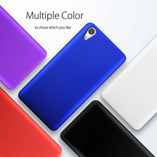 Xperia XA1 Ultraカバー【SLEO】Sony Xperia XA1 Ultraケース ソフトPCバックカバー クリアスタル 超薄型 最軽量 スリムハードラバー Sony Xperia XA1 Ultraカバー(ブラック)