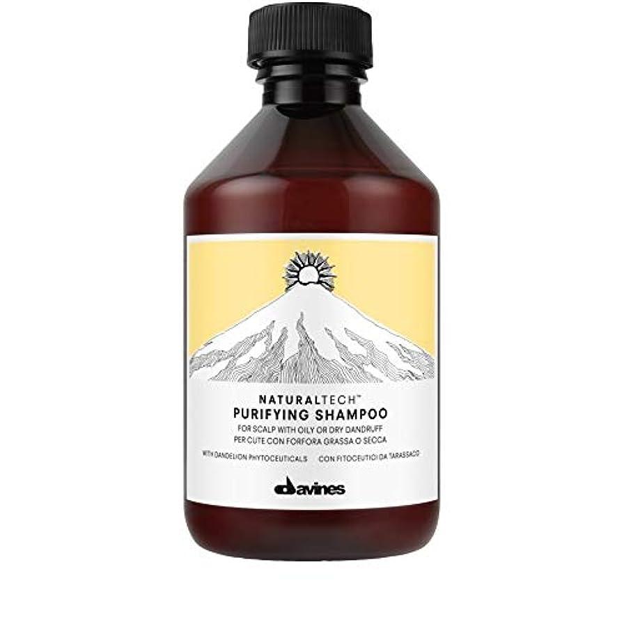 ポスター可能にする悔い改め[Davines ] ダヴィネス浄化フケ防止シャンプー250Ml - Davines Purifying Anti-Dandruff Shampoo 250ml [並行輸入品]