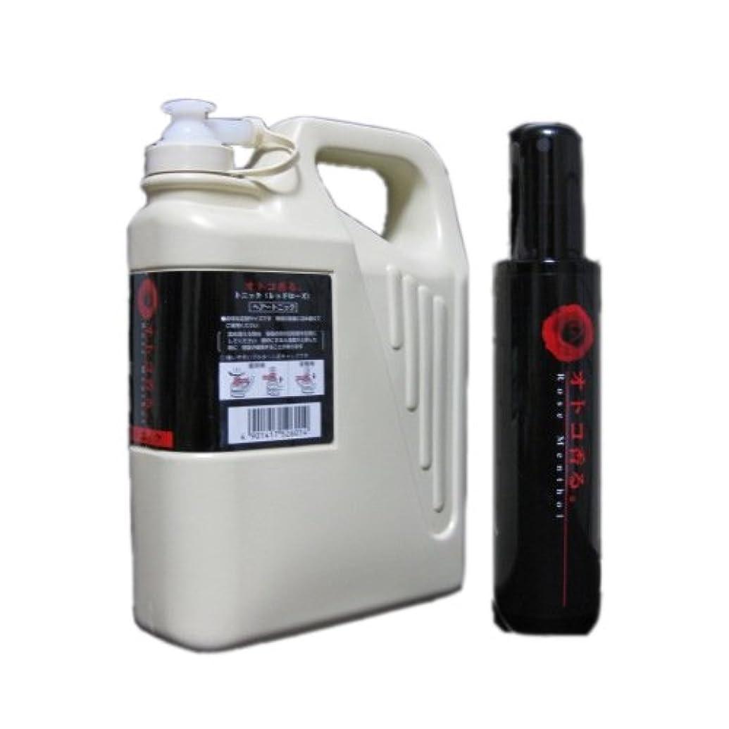 メロン複雑でない不確実クラシエ オトコ香る。フレグランストニック レッドローズ150ml+1050ml Lサイズ(業務?詰替用)セット