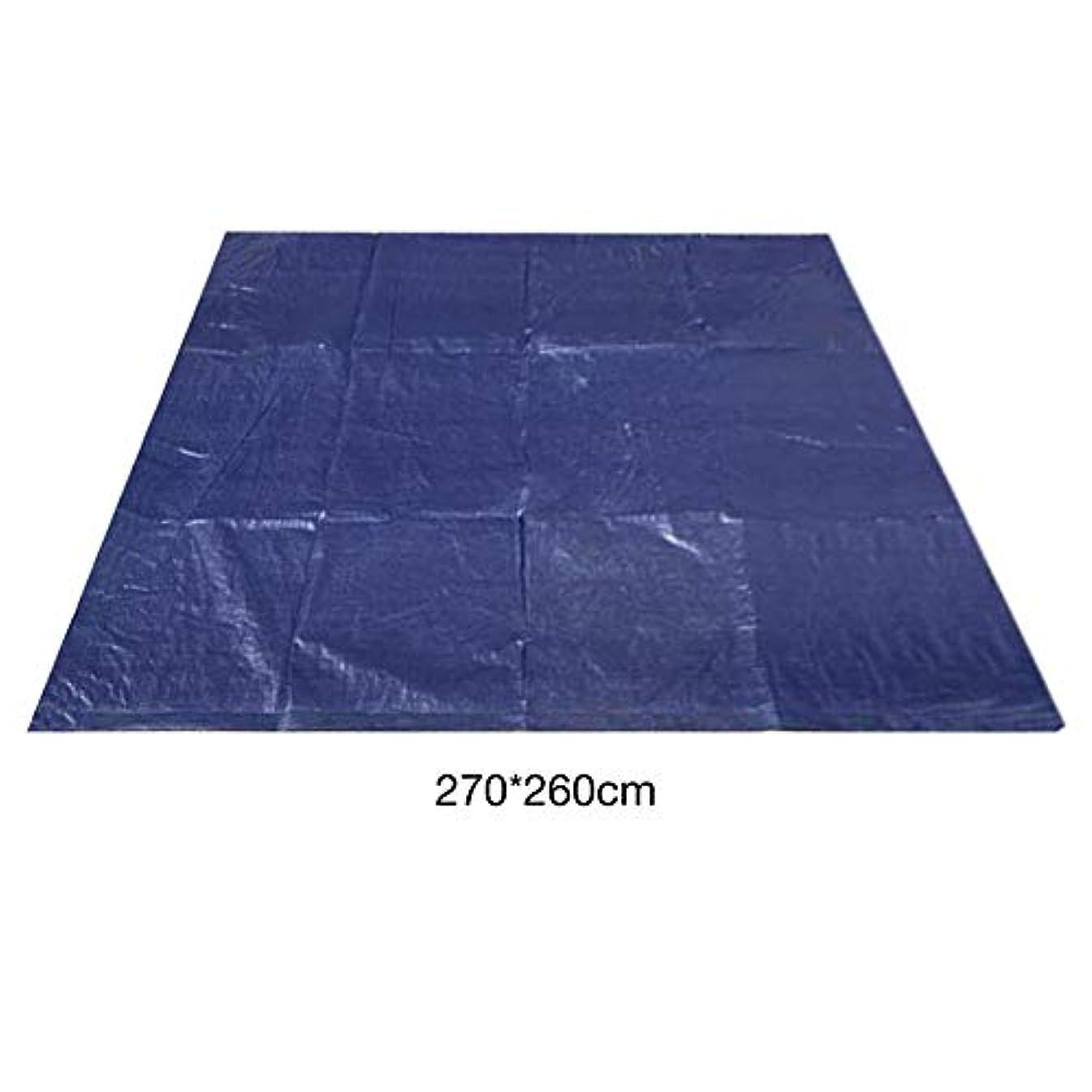 冬予測子時々時々Viugreum プール下マット プールマット プールの下に敷くシート 水泳マット 折りたたみ 滑り止め 長方形 プール 底面保護 大型 家庭用