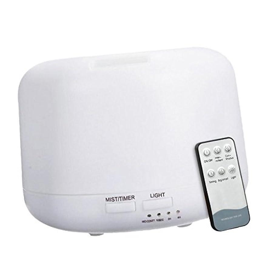 カップル布ファンブルBaoblaze 300mL エッセンシャルオイル ディフューザー アニオン 超音波 加湿器 リモートコントロール オフィス エアフレッシュナー USプラグ