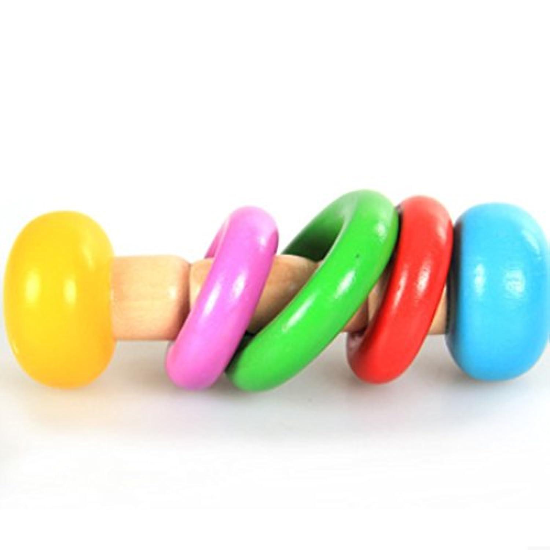 桜の雪 木製手鈴 子供おもちゃ 幼児教育おもちゃ 知育玩具  (3形)