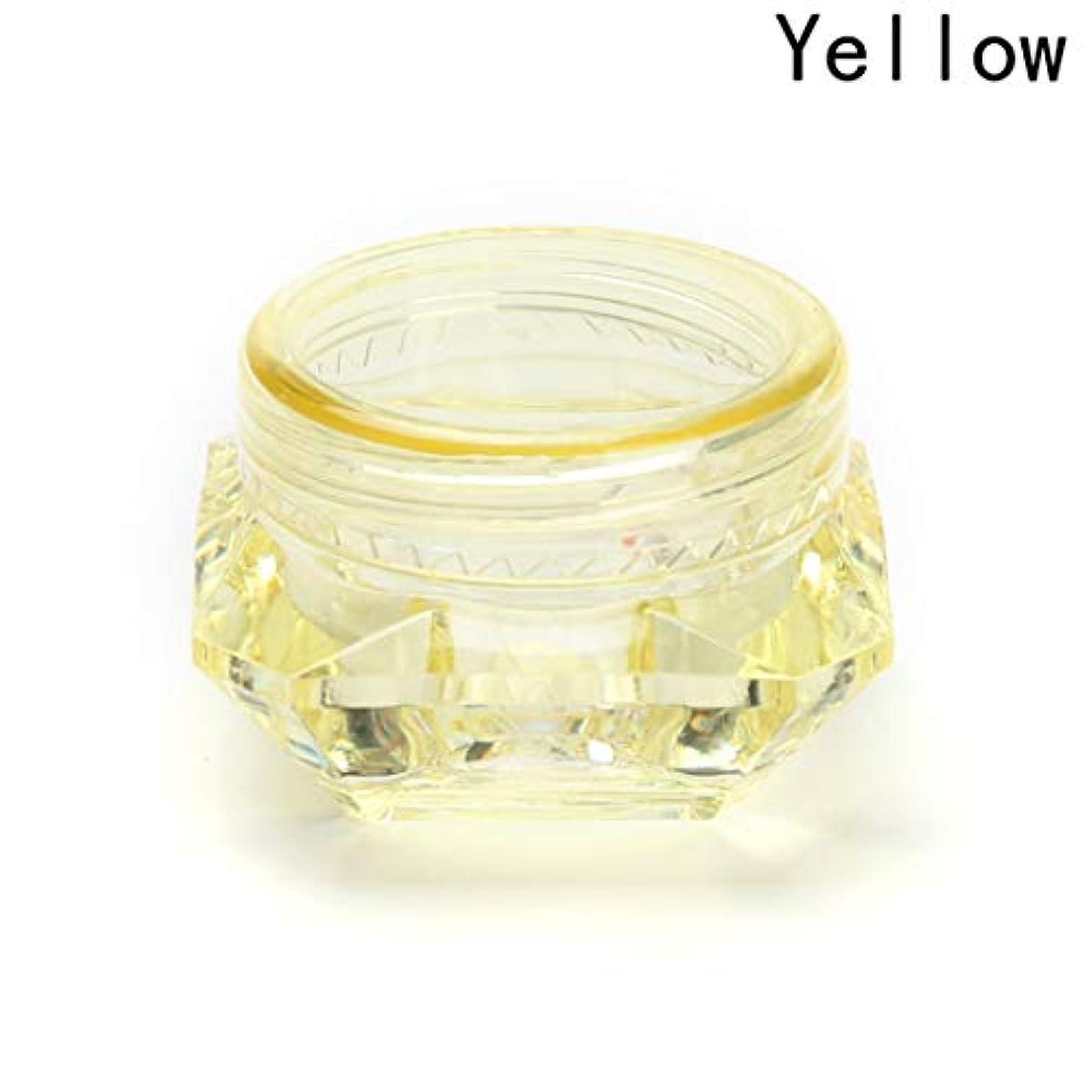 変化グループ自発的Yoshilimen 化粧品空き瓶ポットアイシャドーメイクアップ顔クリーム容器5グラムトライアルパック小サンプルボックスセット(None 5)