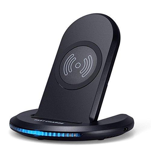 Beatife Qi 急速 ワイヤレス充電器 2in1 折り畳み iPhone 8/X GalaxyS8 S8+など対応 USBケーブル付き