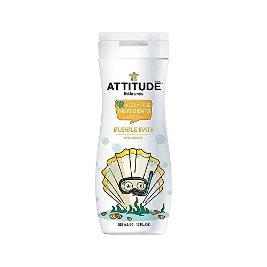 適応中性ディレクターエコキッズ低刺激性の泡風呂の355ミリリットル (Attitude) (x 4) - Attitude Eco Kids Hypoallergenic Bubble Bath 355ml (Pack of 4) [並行輸入品]