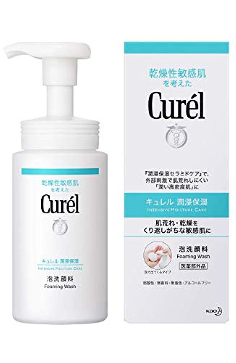 細菌隠されたクラッシュキュレル 泡洗顔料 150ml
