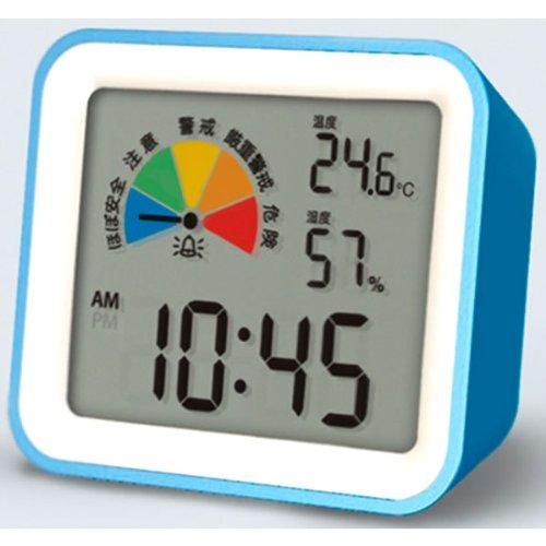 *熱中症指数計(卓上タイプ)Avert ブルー DH03-BL 壁にも掛けれる様に穴付き! GOOD DESIGN受賞商品 MONDO/モトデザイン