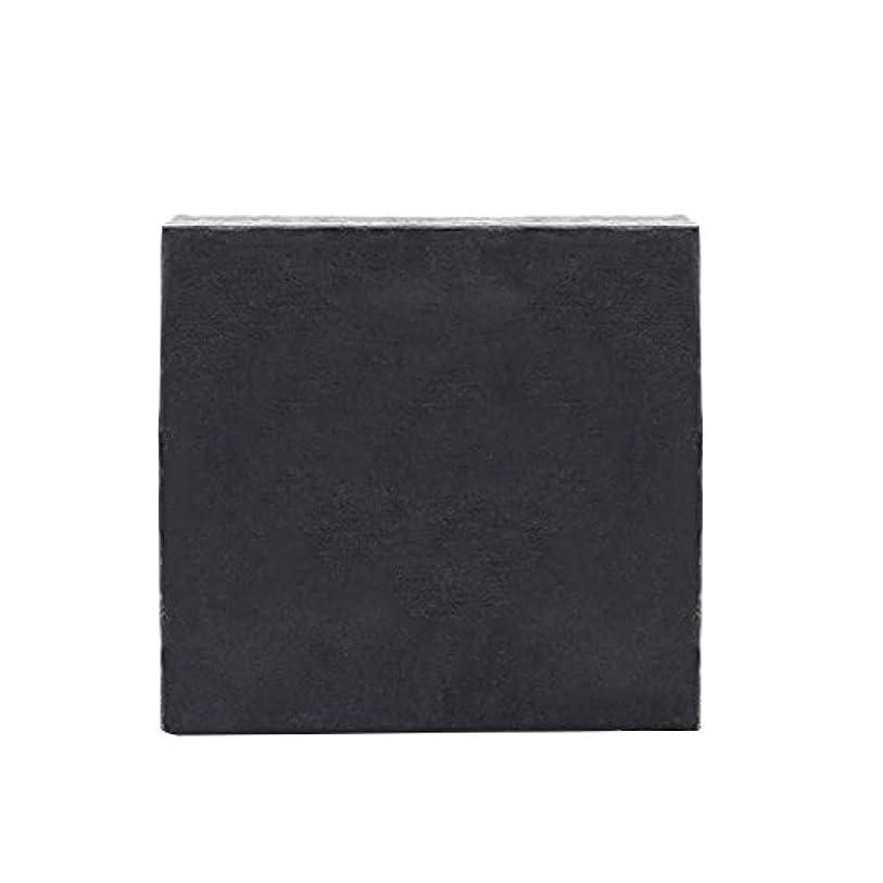 労働マーク親密なKapmore 洗顔せっけん 石鹸 ハンドメイド ソープ 固形 にきび 黒ずみ 毛穴 香り 美肌 美容 泡立て 全6タイプ (竹炭)