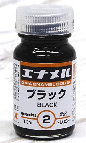 エナメルカラーシリーズ GE002 ブラック