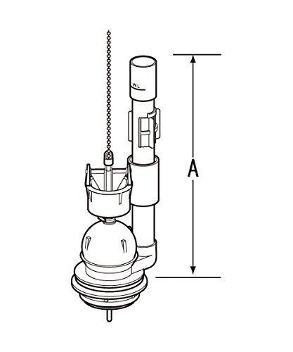 LIXIL(リクシル) INAX 大小切替フロート弁 トイレ用 TF-2820C(243)