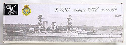 1/700 英海軍巡洋戦艦 レナウン 1917