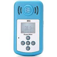 TOOGOO 酸素メーター ポータブル 酸素(O2)濃度検出器、LCD表示と騒音警報付き