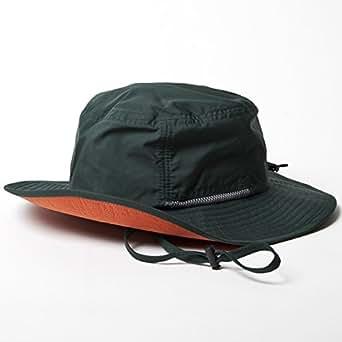 (ベーシックエンチ) BASIQUENTI テフロンサファリハット 帽子 品質検査済み撥水加工 レイン フェス バケット フリーサイズ 57cm-59cm グリーン