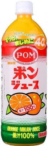 えひめ飲料 POM(ポン) ポンジュース 1L(1000ml)ペットボトル×6本入