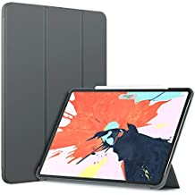 JETech Case for iPad Pro 12.9 Inch (2018 Model), Support Apple Pencil Charging, Cover with Auto Wake/Sleep