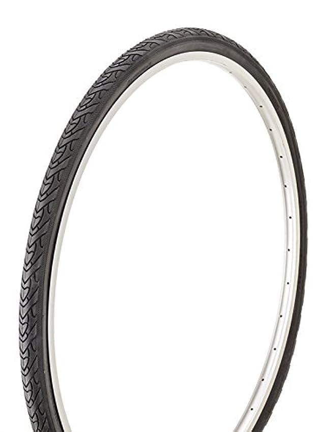 安いです化粧征服自転車 タイヤ 黒タイヤ 700X35C 1本ブロック 14489