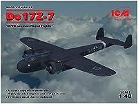 ICM 1/48 ドイツ空軍 ドルニエ Do17Z-7 夜間戦闘機 プラモデル 48245