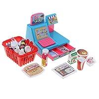 食べ物モデル ごっこ遊びおもちゃ子ども ロールプレイおもちゃ キャッシュレジスター 全8色 - 便利店