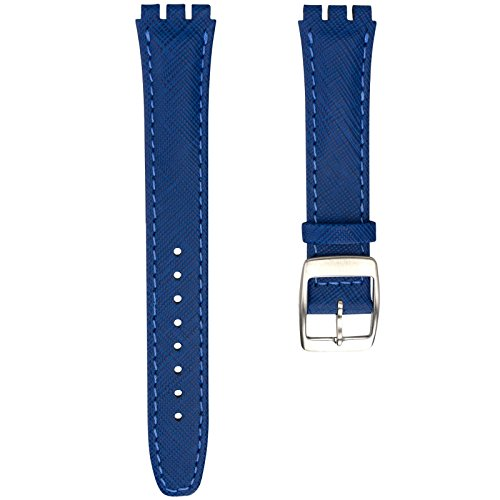 [해외]Geckota Swatch 스와치 대응 가죽 시계 정렬 벨트/Geckota Swatch Swatch-ready real leather wrist watch change belt