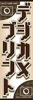 のぼり旗スタジオ のぼり旗 デジカメプリント005 通常サイズ H1800mm×W600mm