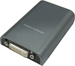 玄人志向 USB接続増設グラフィックアダプタ DVIコネクタタイプ VGA-USB/DVI