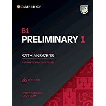 Cambridge English Preliminary 1 for revised exam from 2020. Student's Book with Answers with Audio CD: Student's Book with Answers with downloadable audio