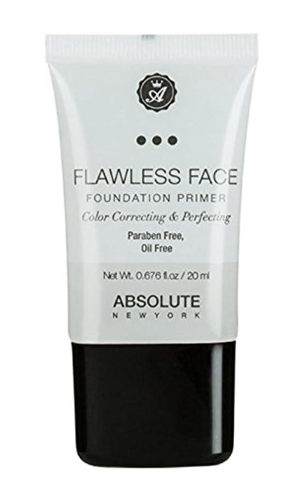 ロードされたラメ音ABSOLUTE Flawless Foundation Primer - Clear (並行輸入品)