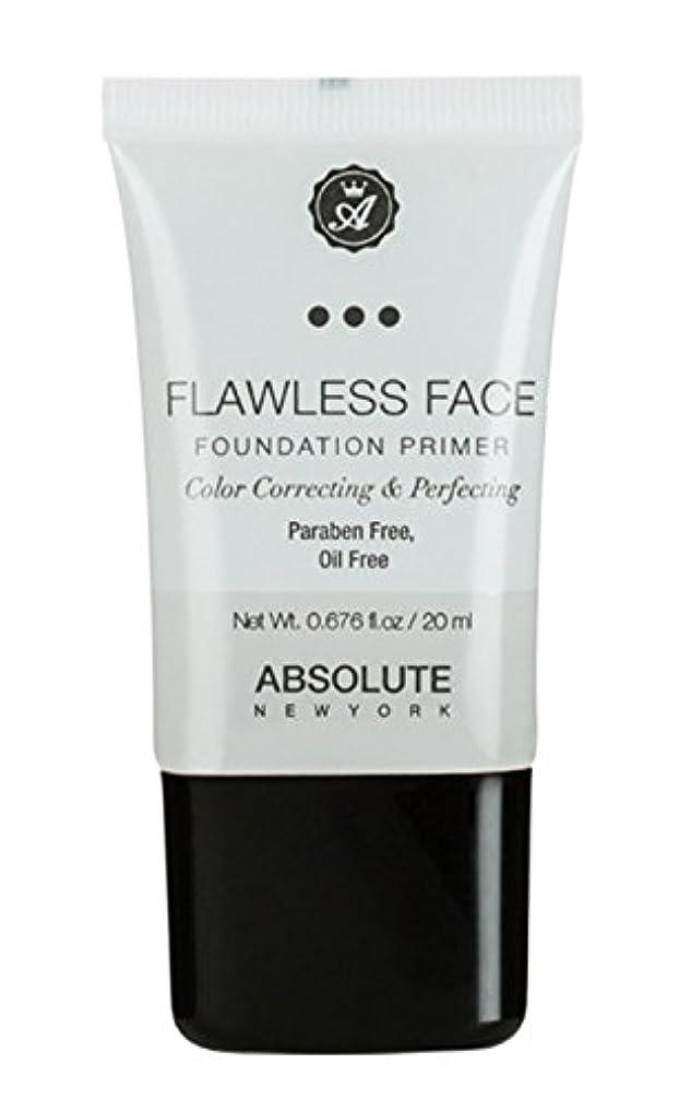 しなやかトーストクライマックスABSOLUTE Flawless Foundation Primer - Clear (並行輸入品)