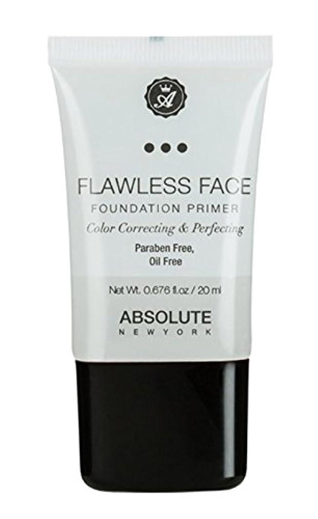 ネックレット港スマイルABSOLUTE Flawless Foundation Primer - Clear (並行輸入品)