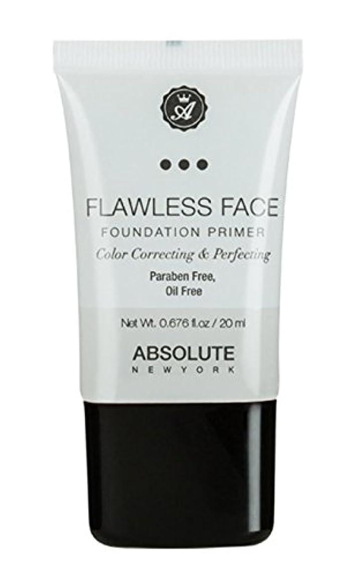 モーター表示運営ABSOLUTE Flawless Foundation Primer - Clear (並行輸入品)