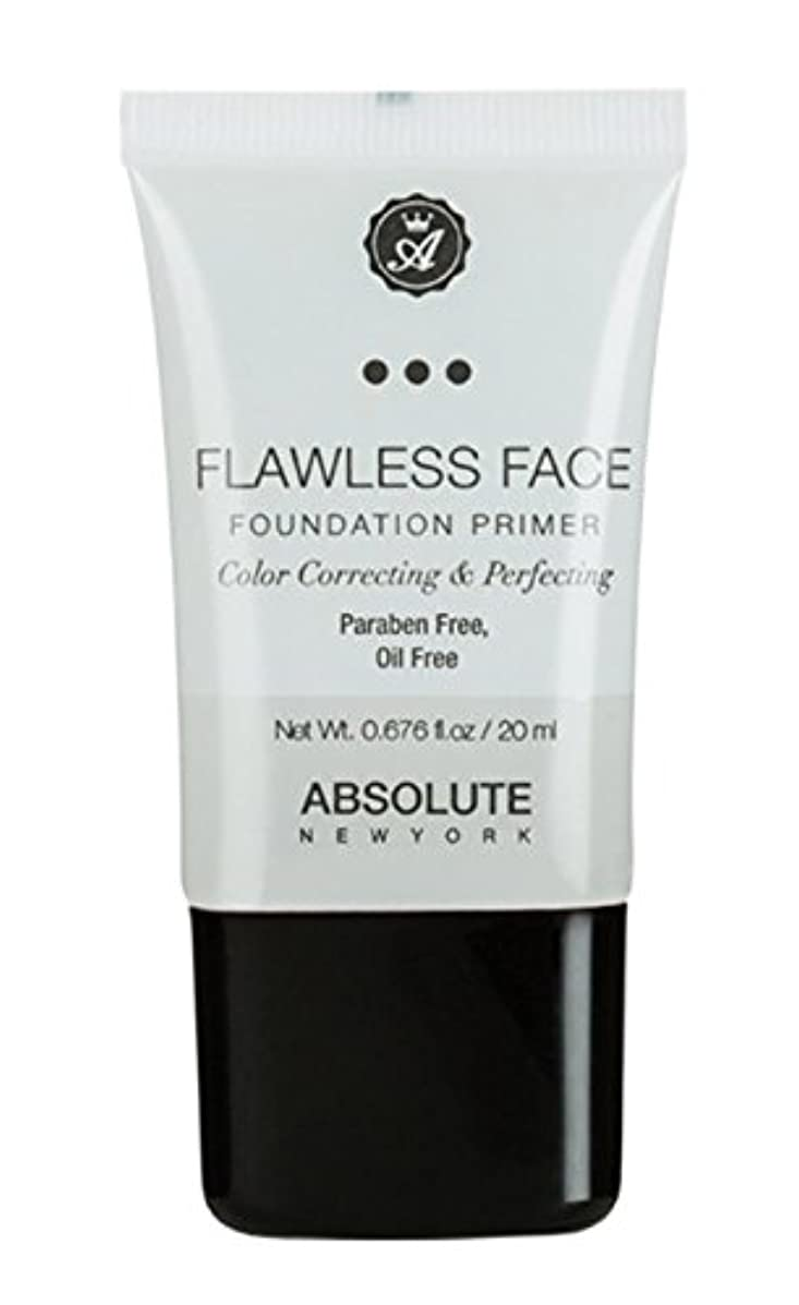 邪魔補助金大学ABSOLUTE Flawless Foundation Primer - Clear (並行輸入品)