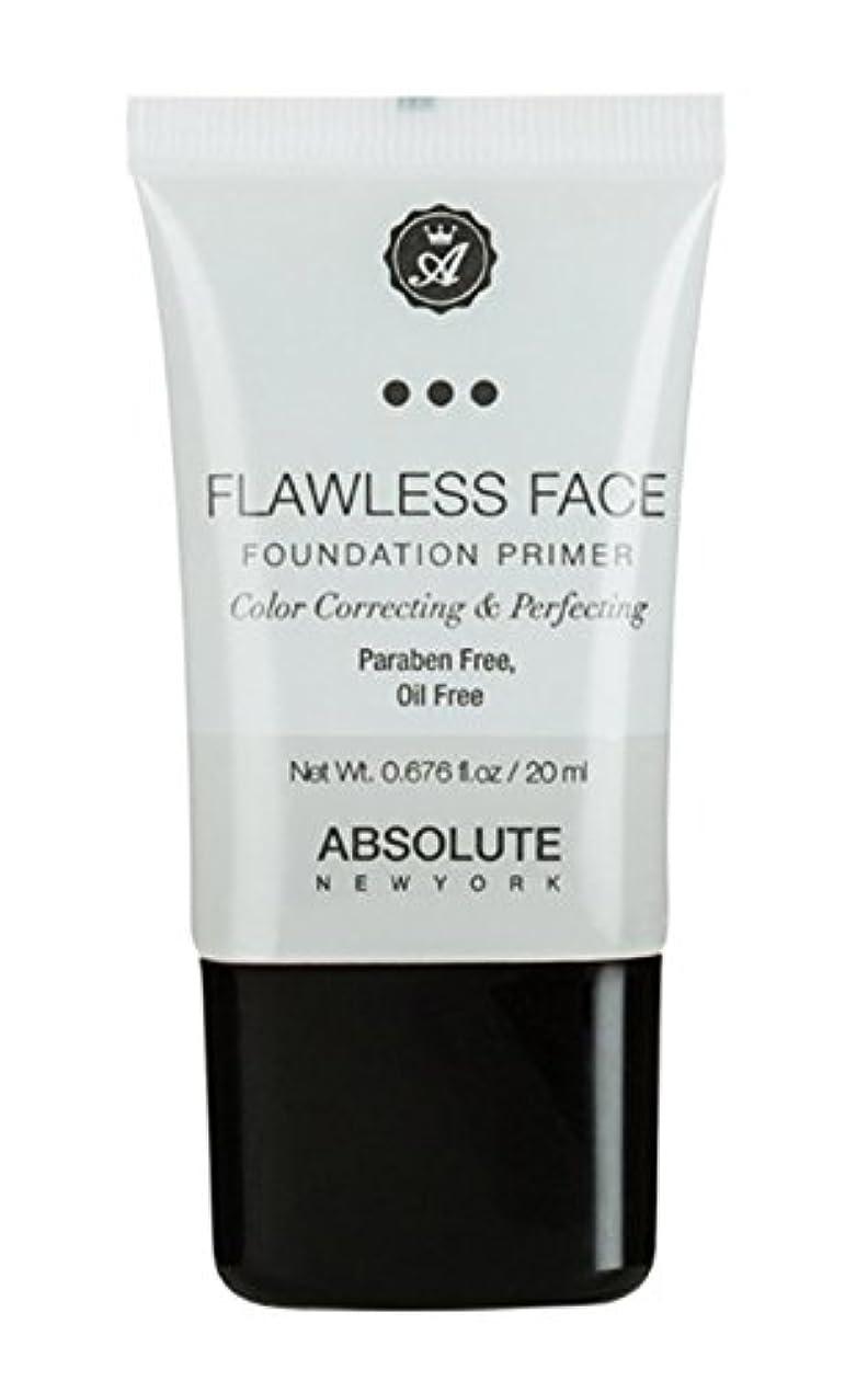 皿爪クリケットABSOLUTE Flawless Foundation Primer - Clear (並行輸入品)