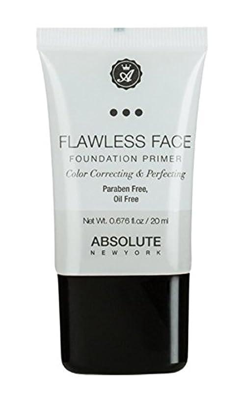 感嘆確保する司法ABSOLUTE Flawless Foundation Primer - Clear (並行輸入品)