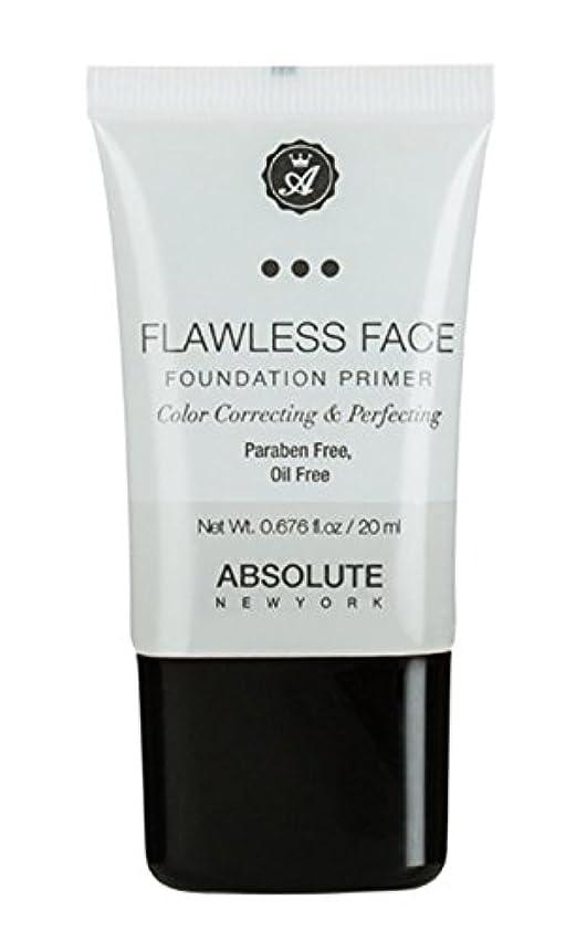 グリルマスク解放するABSOLUTE Flawless Foundation Primer - Clear (並行輸入品)