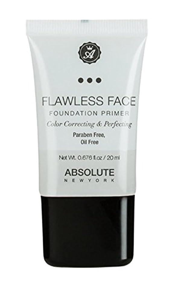 いじめっ子花束側溝ABSOLUTE Flawless Foundation Primer - Clear (並行輸入品)